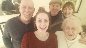 Boxing Day fam selfie
