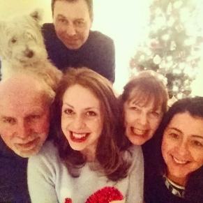 Fam selfie on christmas day