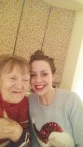 Grandma selfie