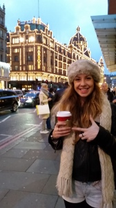 Harrods plus Christmas coffee